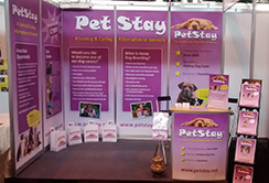 Our stand at Crufts