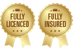Fully Licenced - Fully Insured