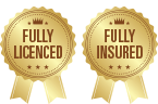 Fully licences and fully insured