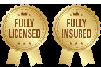 Fully Licensed - Fully Insured